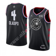 Camisetas NBA Baratas Indiana Pacers 2019 Victor Oladipo 4# Negro All Star Game Swingman..